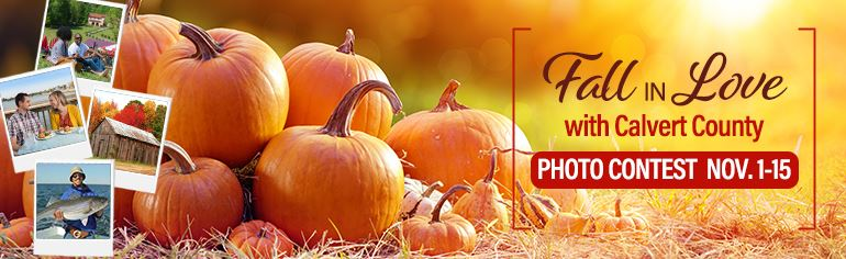 Calvert County Tourism Fall Photo Contest Graphic