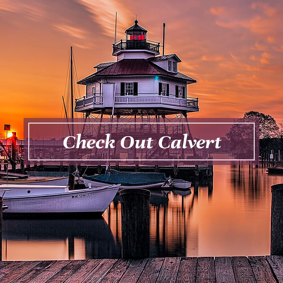 Web button for Check Out Calvert Page