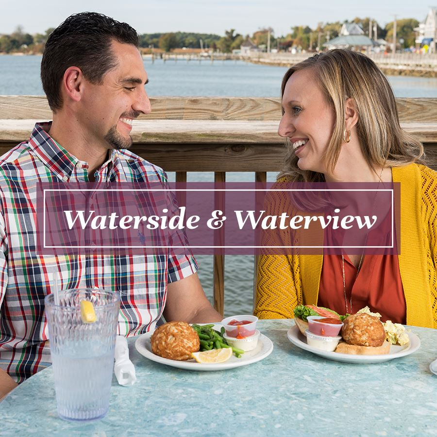 Waterside and Waterview