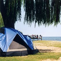Breezy Point Beach & Campground