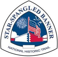 Star-Spangled Banner Trail sign